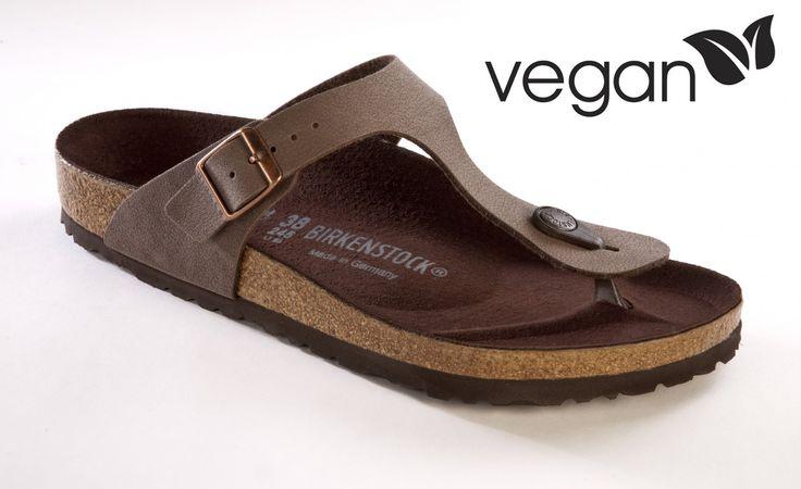 Birkenstock Gizeh mocca vegan sandals<3