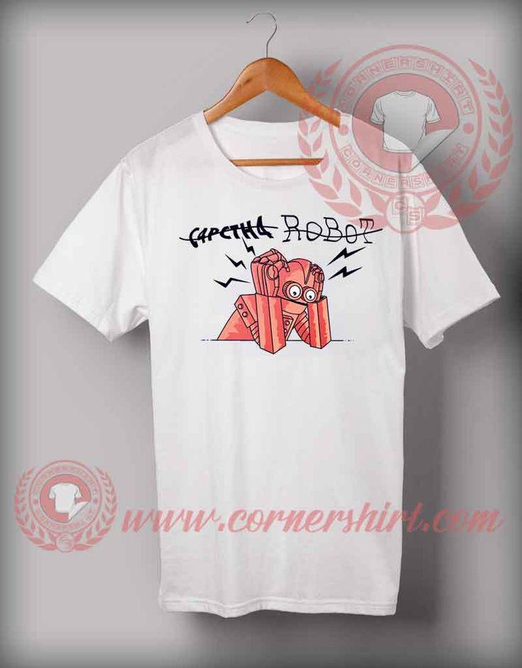 Cheap Custom Made T shirts Capctha Robot //Price: $14.5//     #sweatshirt