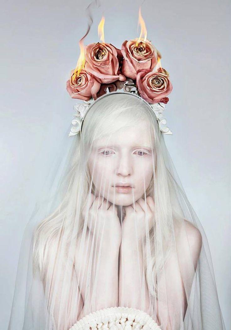 """Nastya Zhidkova by Danil Golovkin in """"Wild Flower"""" for"""