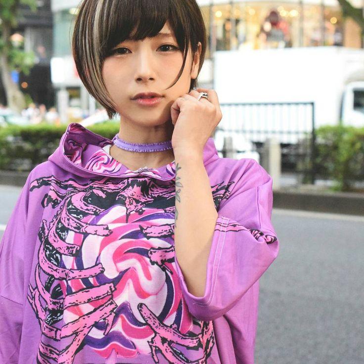 "400 Me gusta, 1 comentarios - ACDC RAG Harajuku (@acdcrag_harajuku) en Instagram: ""2017 ss collection ・ Lollipop short sleeves hoodie! ・ ろりぽっぷパーカーワンピに半袖が出来ました ・ #acdcrag #harajuku…"""