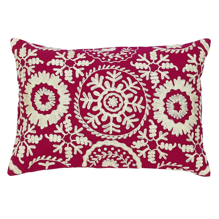 Marrakech Embroidered Cushion <3<3