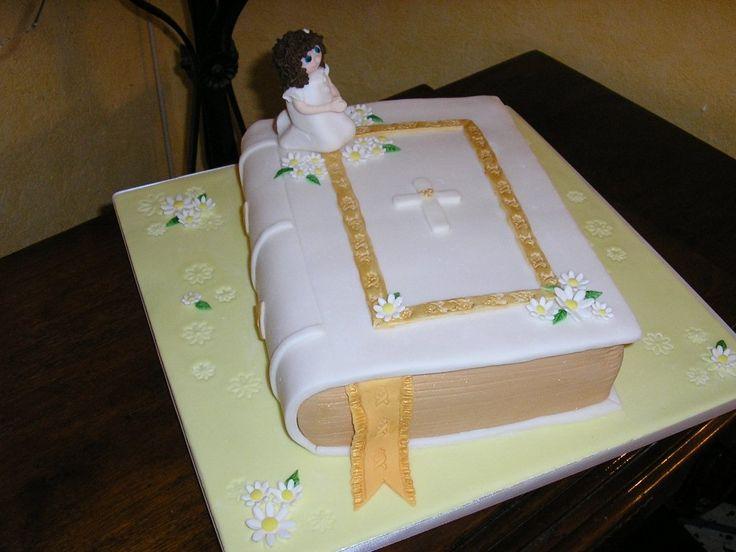 Gateau de premiere communion antillais