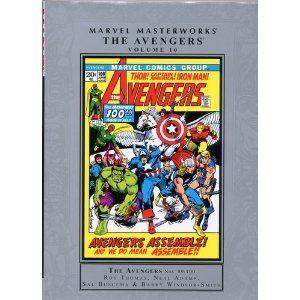 Marvel Masterworks: Avengers @ niftywarehouse.com #NiftyWarehouse #Avengers #Movies #TheAvengers #Movie #ComicBooks #Marvel