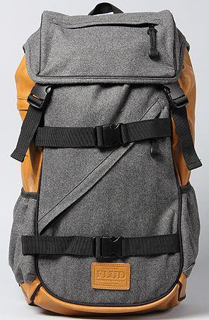 Flud Flannel Tech Backpack in Grey: Karmaloop