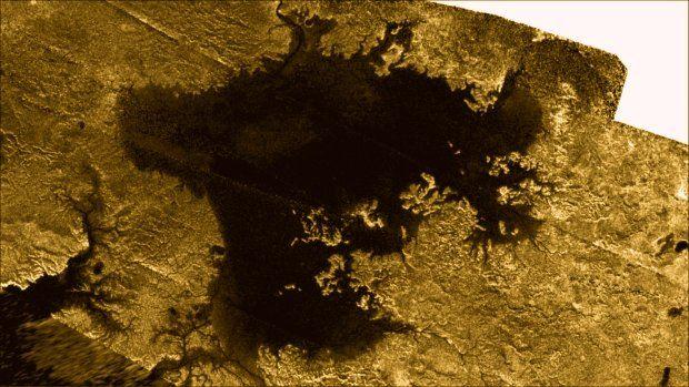Morze Ligeia Mare na Tytanie
