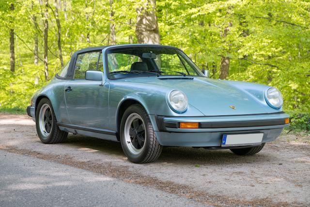 1980 Porsche 911sc Targa Coup 233 Estimate 163 30 000 40 000