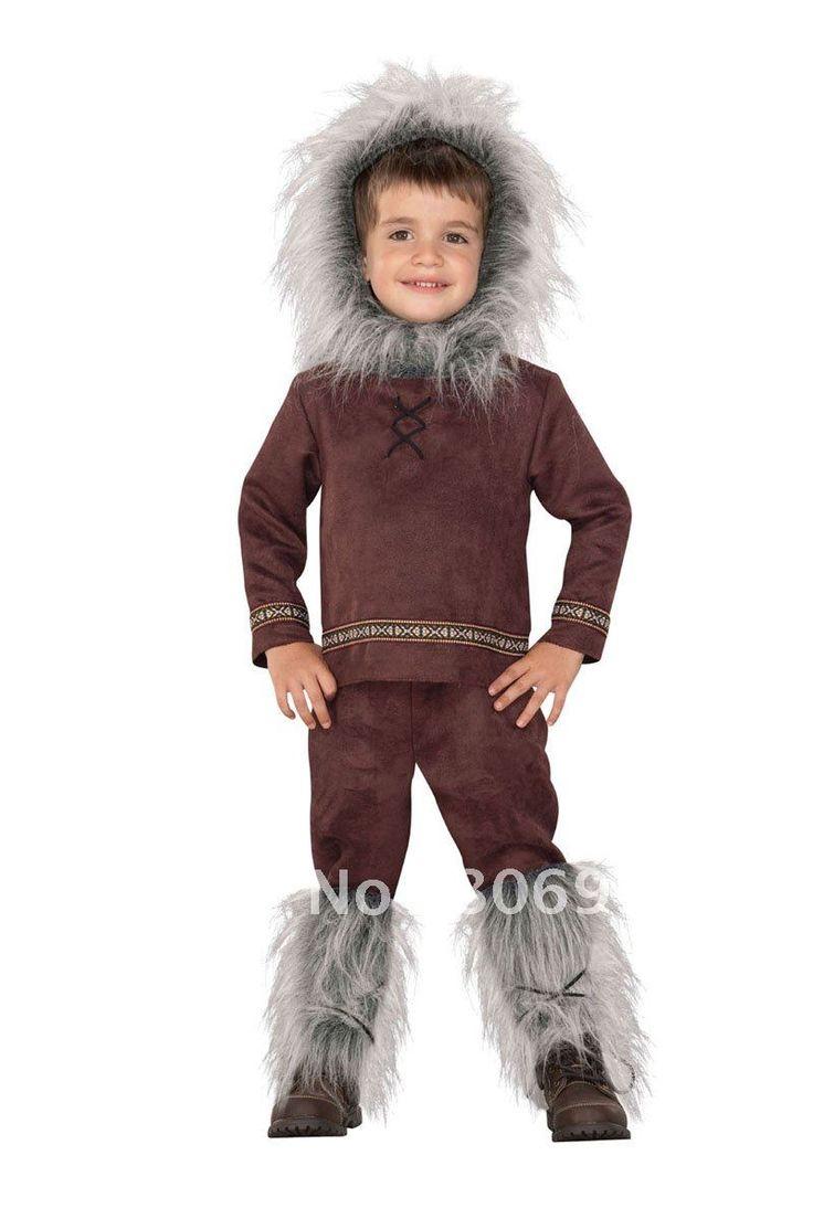 how to make children's eskimo costume - Google Search