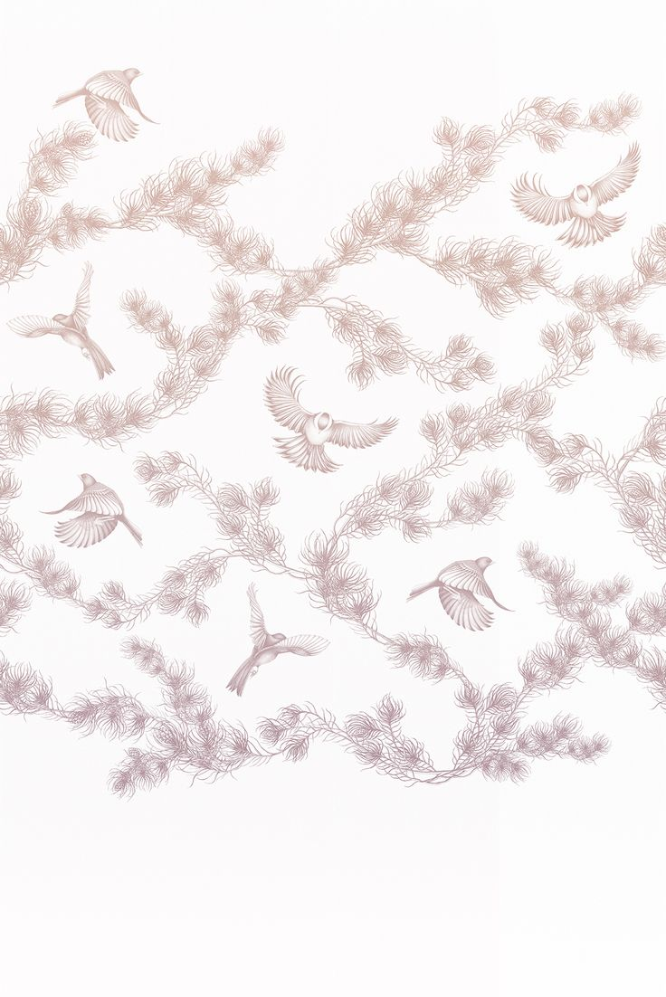 Wallpaper 'Spring Pine' by Mira Nameth for Photowall.