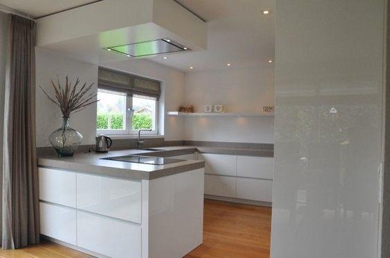 Hoogglans Witte Keuken : Hoogglans wit keuken keuken in ikea kitchen inspiration