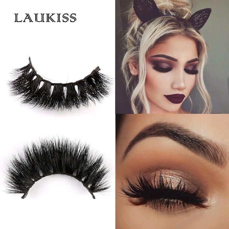 LAUKISS D615 Eyelash Extension 3D Handmade Eyelashes Mink Individual False Mink Eyelashes Lash Extension For Daily Use
