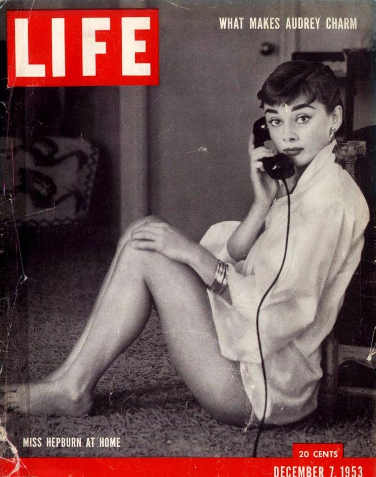 Life revista Audrey