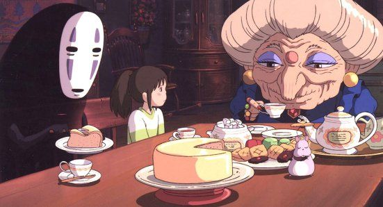 Marvellous illustrations!post on the blog about the impressive Spirited Away by Hayao Miyazki. 🌸🌼 // #hayaomiyazaki #spiritedaway #perlesetparoles #animatedmovie #flowers #chihiro