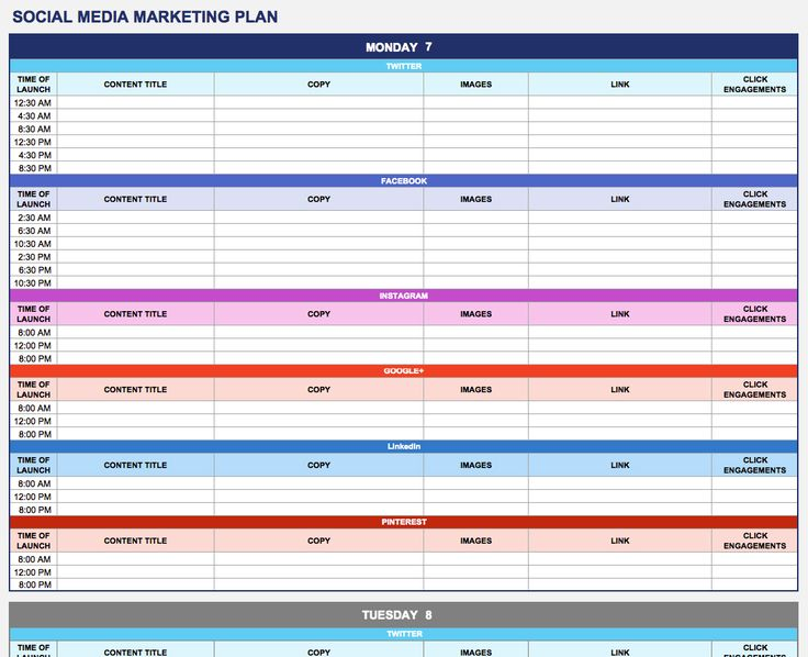 Best 25+ Marketing plan format ideas on Pinterest Business plan - social media calendar template