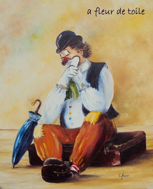 73 best art peinture clowns images on pinterest | clowns, jokers