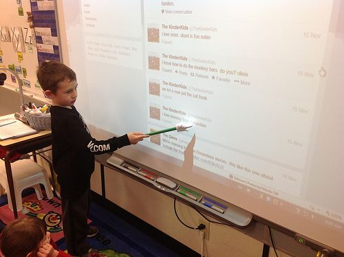 This post by Kathy Cassidy accurately discusses why I think it is so important to incorporate technology into the classroom. We need to be preparing students to participate in a technological world, not force them through traditional education practices