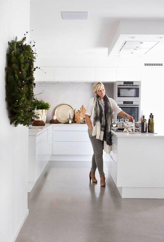 Norwegian kitchen brand, Sigdal Kjøkken. Design by Nina Therese Oppedal Located in Kråkerøy, Fredriktad.: