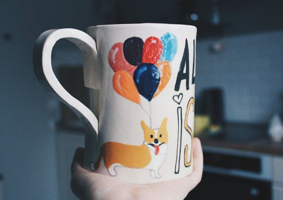 Handmade Ceramic Mug by GungaCeramics on Etsy