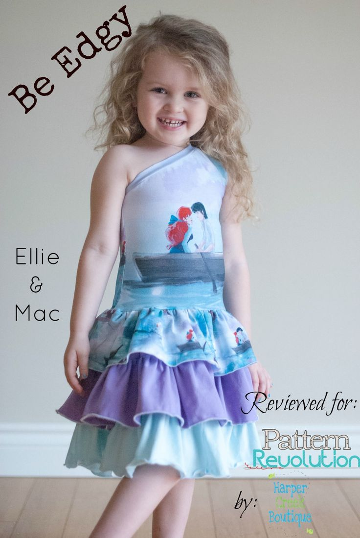 Be Edgy Dress by Ellie and Mac