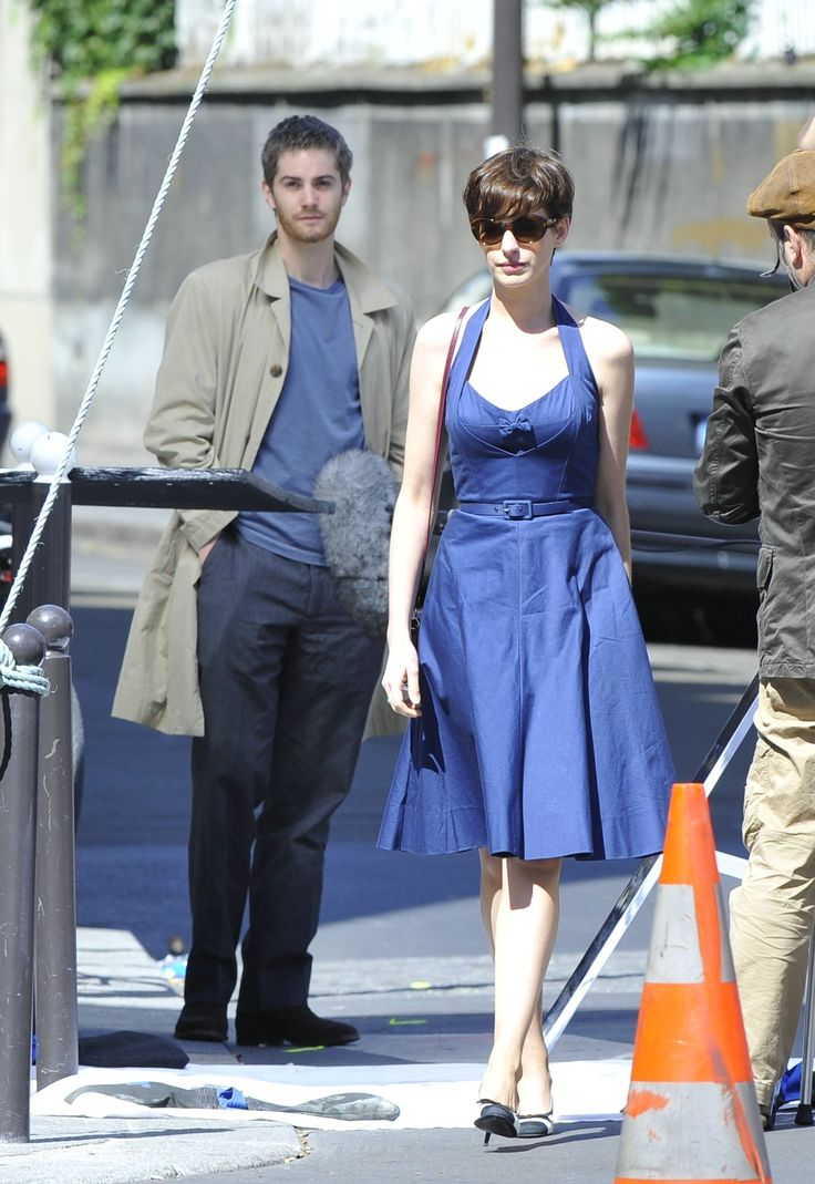 Loved this dress from the movie One Day worn by Anne Hathaway's character.  She was very French Chic.