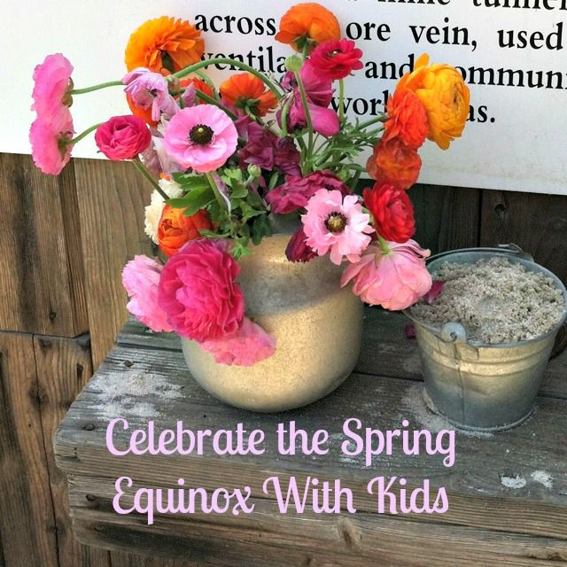 Celebrate the spring equinox with kids