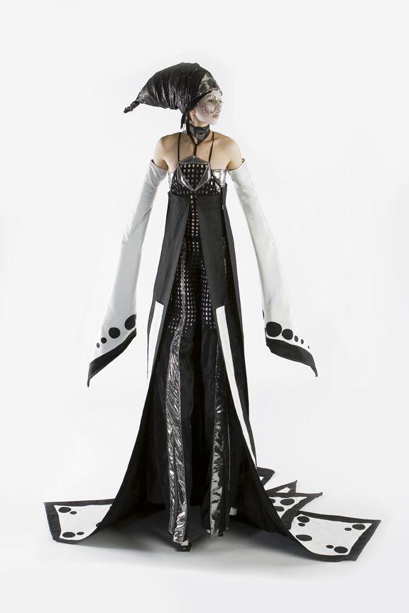 alin nation stilt costume. nice!