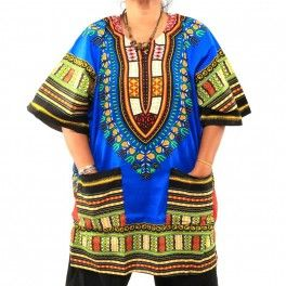 Dashiki Print Shirt Size XL