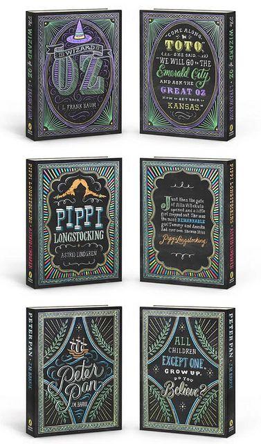 These are amazing!  Dana Tanamachi - Puffin Chalks covers