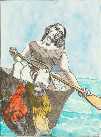 "Paula Rego ""Steering The Boat"""