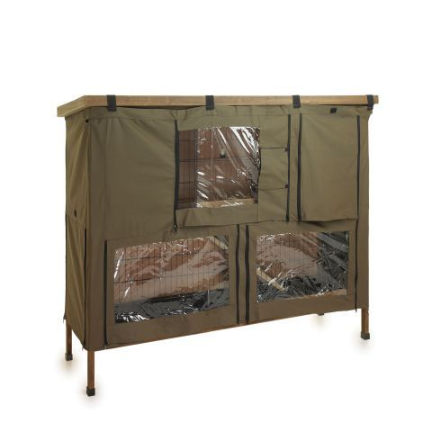 Hutch n Fun Extra Double Rabbit Hutch Cover – Next Day Delivery Hutch n Fun Extra Double Rabbit Hutch Cover