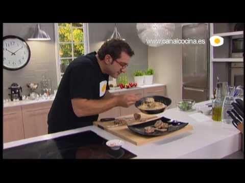 Cocinamos contigo Receta de Muslos rellenos con salsa de champán y nata