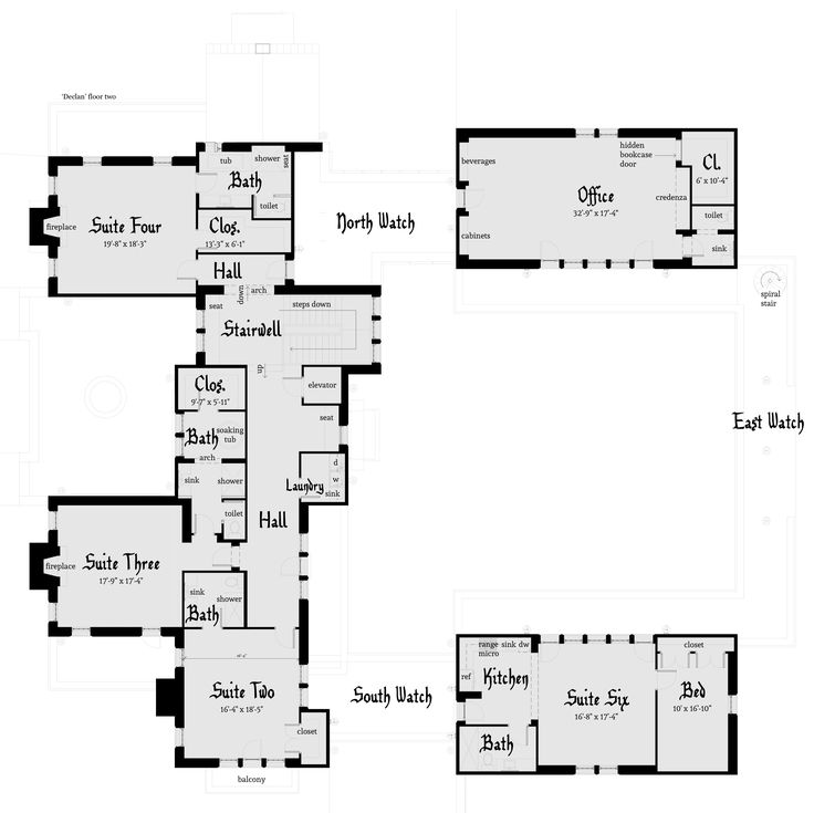 The 25 Best Ideas About Castle House Plans On Pinterest