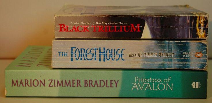 Marion Zimmer Bradley: Foresthouse, Black Trillium, Priestess of Avalon