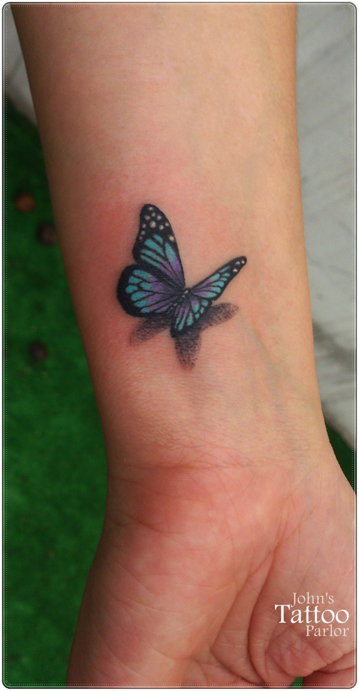 For K. TattooIdeasForMoms Butterfly tattoos on arm