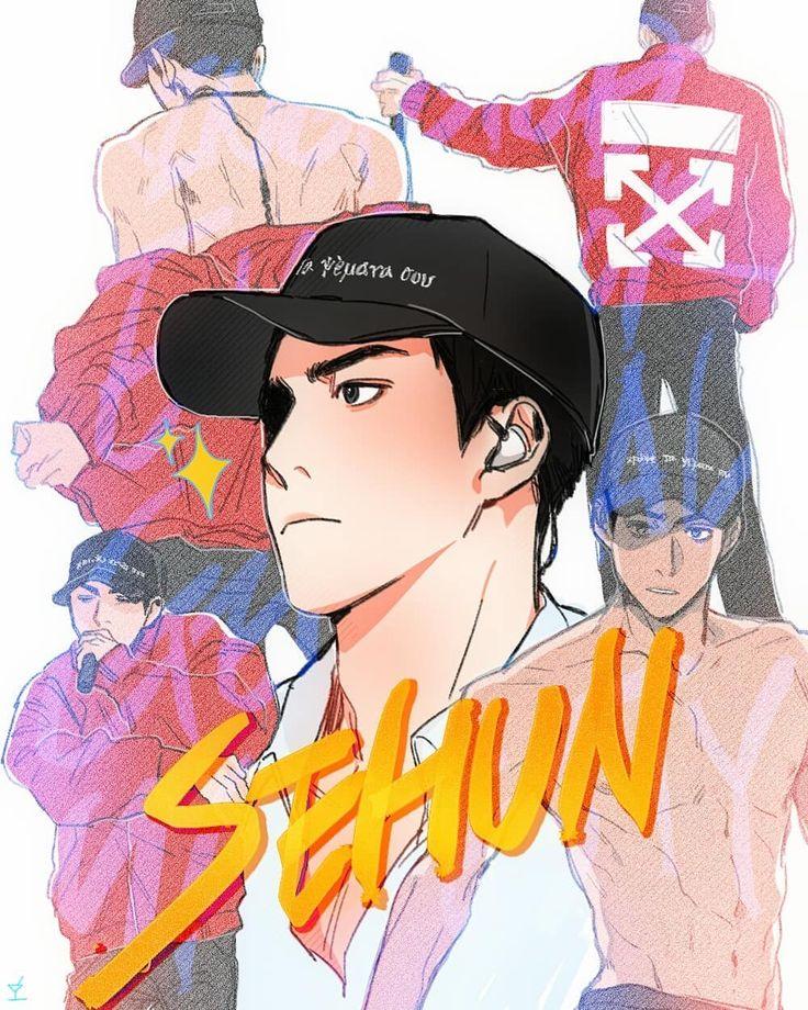Sehun #sehun #sehunfanart #exo #exofanart #fanart #concert #exoeℓyxion
