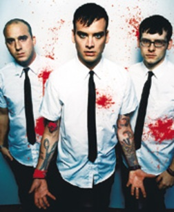 Alkaline Trio, this is by far my fav pic of them