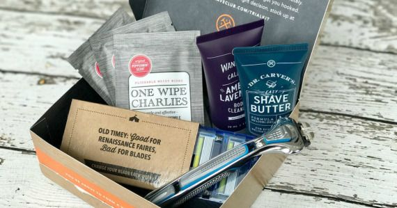 Get a razor, four cartridges, and lots of extras from Dollar Shave Club shipped right to your door for $5!