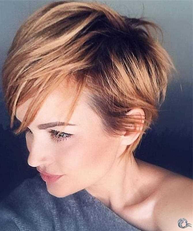 Haare damen blonde kurze Frisuren Für