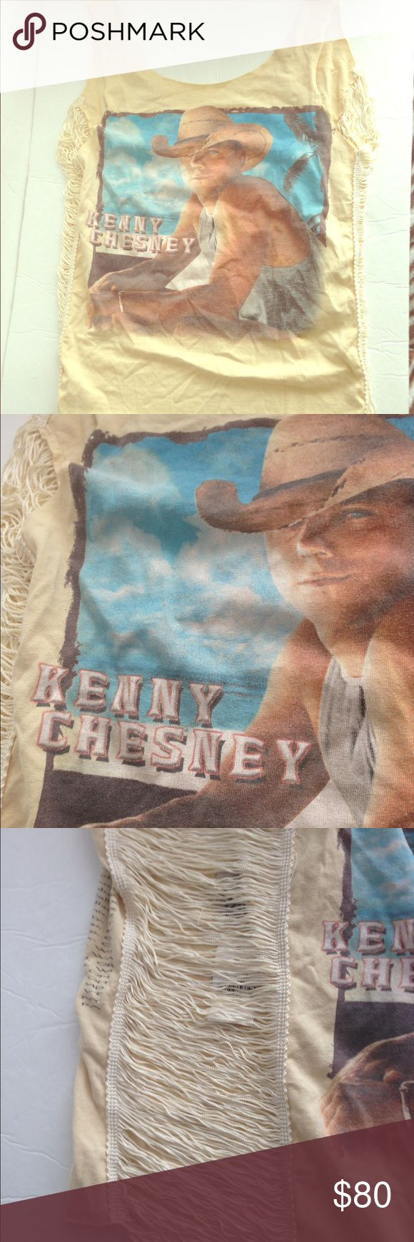 Kenny Chesney Furst of a Kind tour tank top-NWT! Kenny Chesney Furst of a Kind tour tank top-NWT! One size fits most. LF Tops Tank Tops