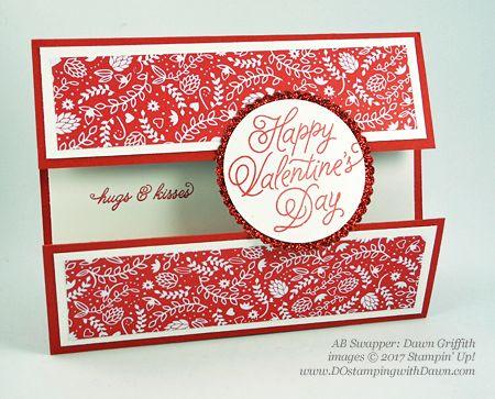 Valentine Swap card shared by Dawn Olchefske #dostamping (Dawn Griffith)