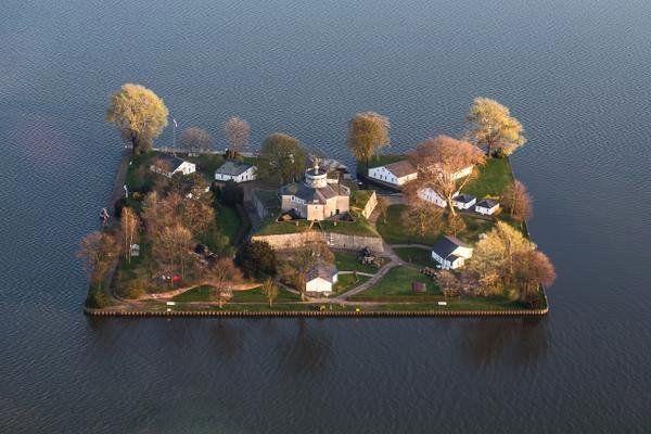 Wilhelmstein island, Germany, Built in 18th-century.