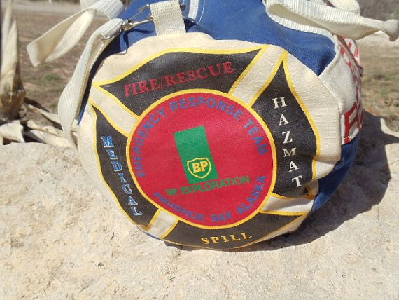 British Petroleum BP Emergency Response Team Bag by TheRightSpot