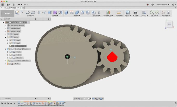 This mechanism uses rotary motion to move a gear quickly and precisely into a fixed position. Using skateboard bearings, you can snap these parts together and use...