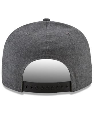 New Era Jacksonville Jaguars Crafted In America 9FIFTY Snapback Cap - Carbon Heather Adjustable
