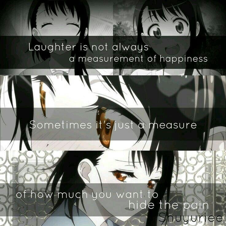 Manga Anime Just Because: I'm Sad... Because It's Really True