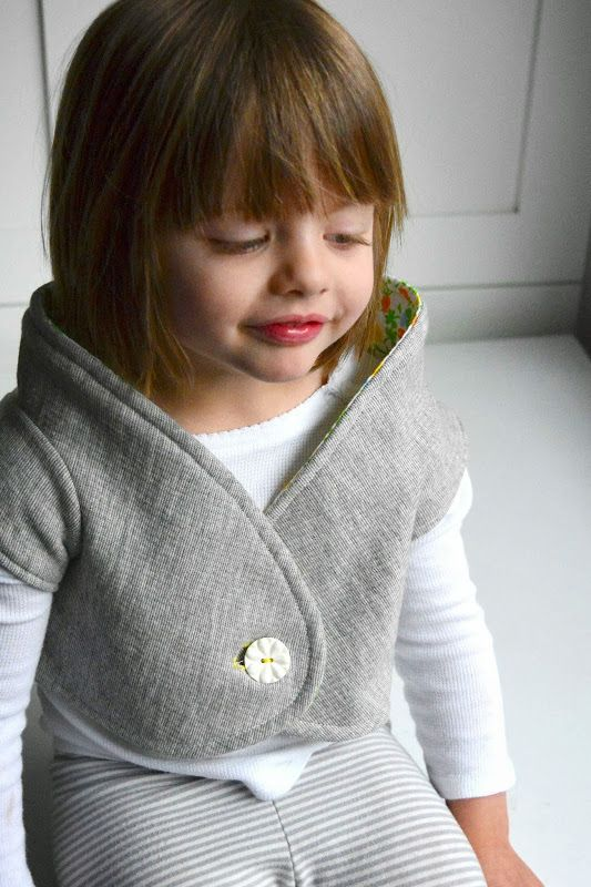 Aesthetic Nest: Sewing: The Winnie Shrug (Pattern!)