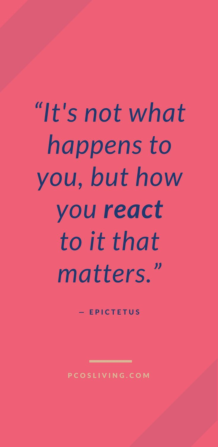 You Can Only Control How You React Quotes About Mindset Power