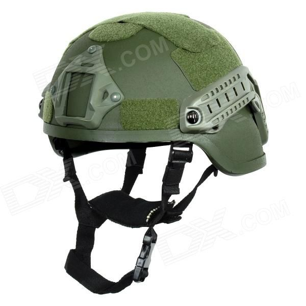 Tanluren SW2143 Tactical Filed War Game / Motorcycling Helmet - Army Green Price: $55.40