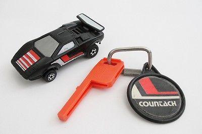 Vintage KIDCO 1980 BURNIN Key Car Lamborghini Countach -- Antique Price Guide Details Page