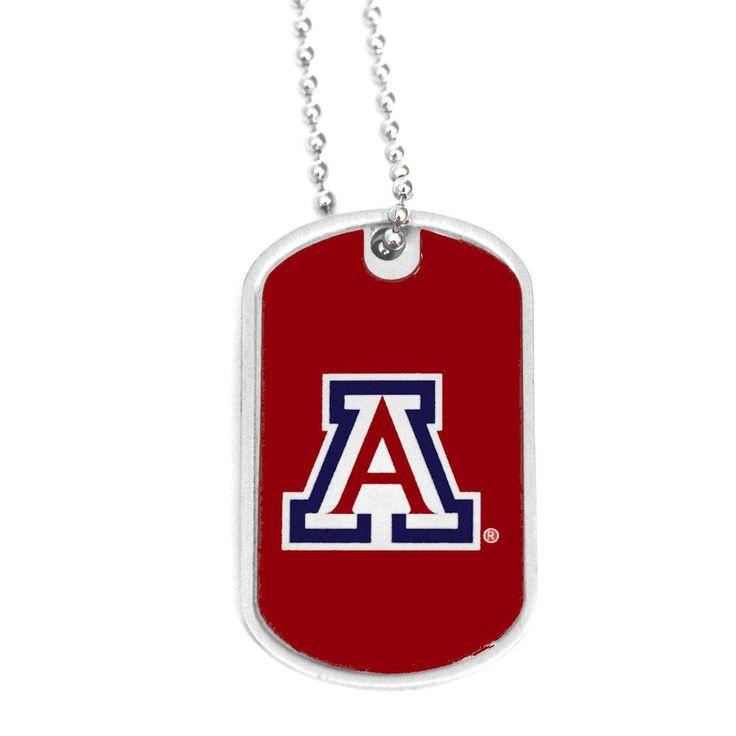 Arizona Wildcats Domed Dog Tag Necklace