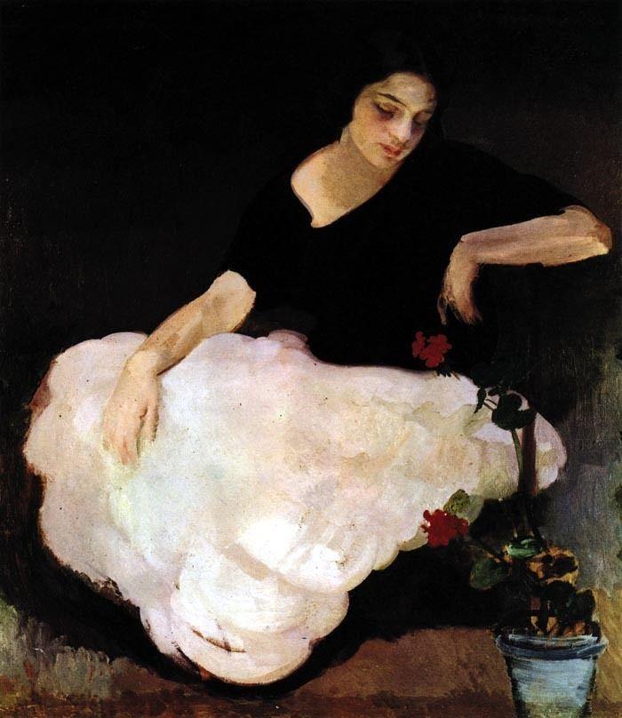 "Amedeo Bocchi (Italian, 1883 - 1976) ""Bianca"""